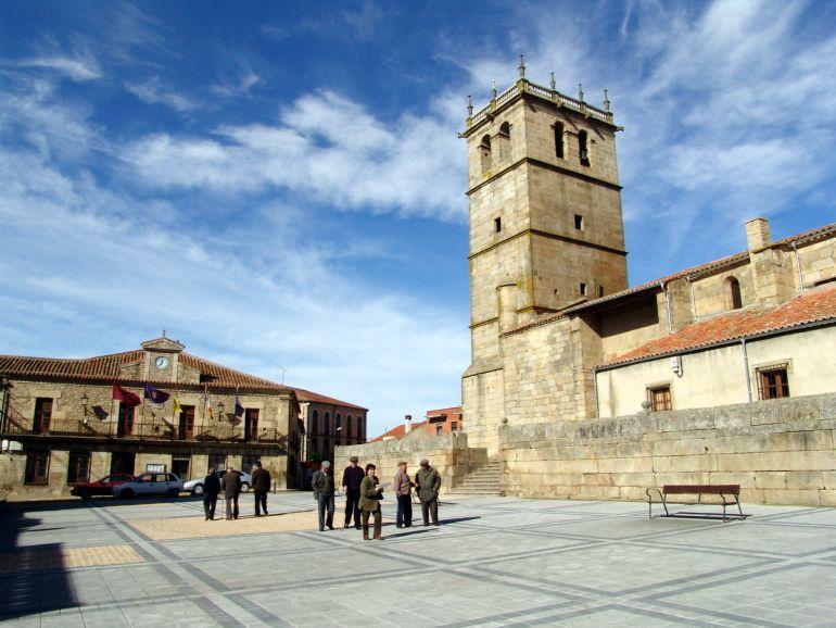 Imagen de la localidad de Vitigudino. Foto de la web del Consistorio.