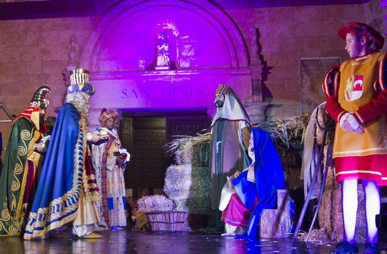 Adoración al Niño Jesús en San Ginés