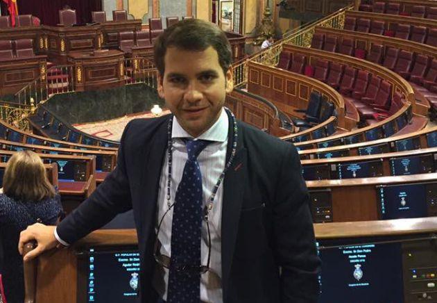 Fernando Priego en el Senado
