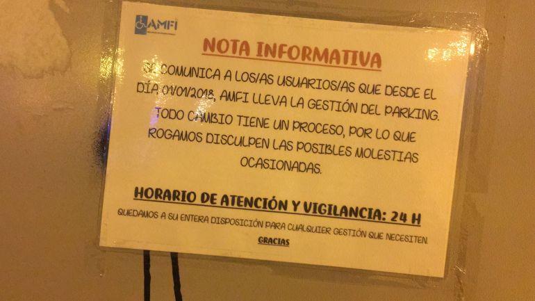 AMFI ha comenzado a gestionar el aparcamiento de la plaza de La Ficia de Elda