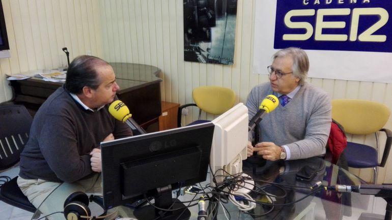 Francisco Camas, delegado de Fiestas, durante su entrevista en Hoy por Hoy Jerez