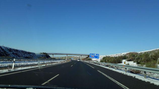 Nevada histórica en Béjar