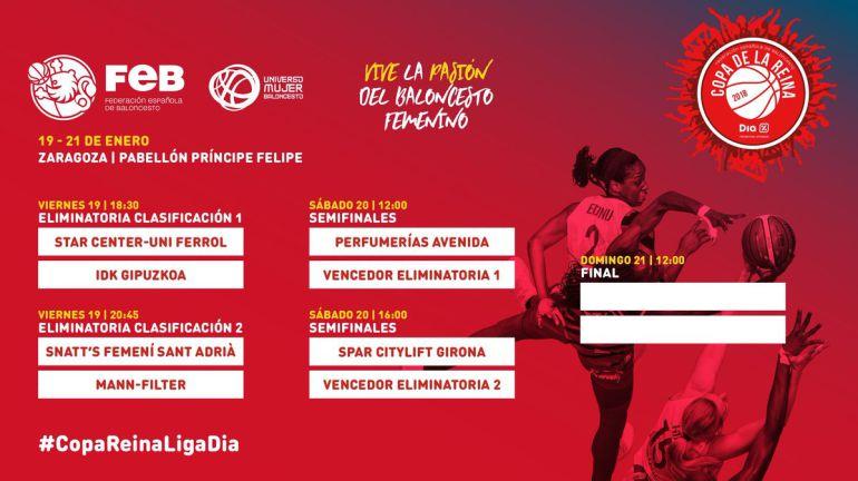Zaragoza empieza a respirar Copa de la Reina