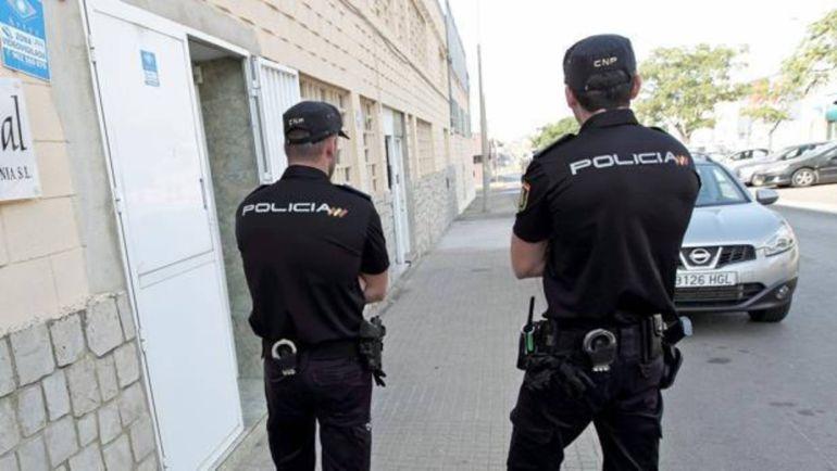 Imagen de la Policía Nacional de una operación anterior.