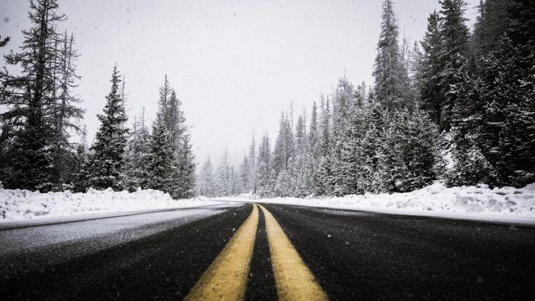 Temporales de nieve en carretera