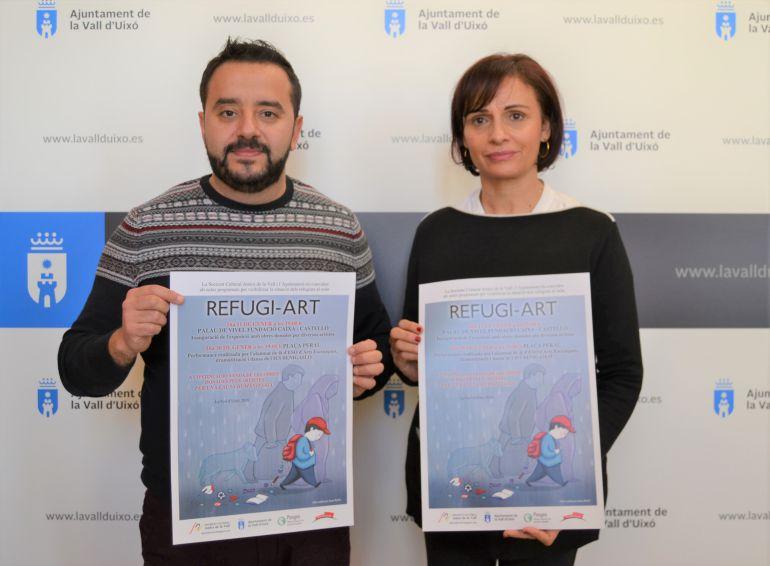 La exposición 'Refugi-Art' recaudará fondos para Acnur en la Vall d'Uixó