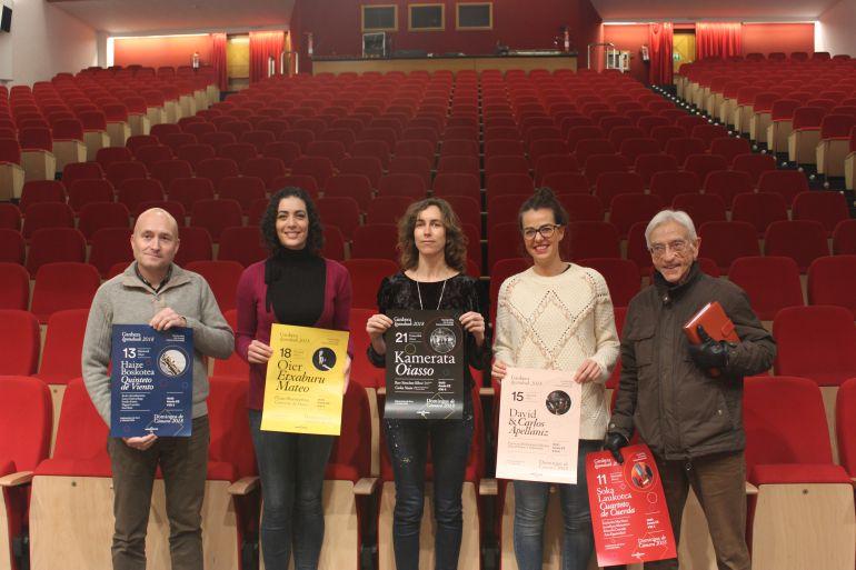 Presentación en el C.C. Amaia del nuevo ciclo de conciertos de cámara.