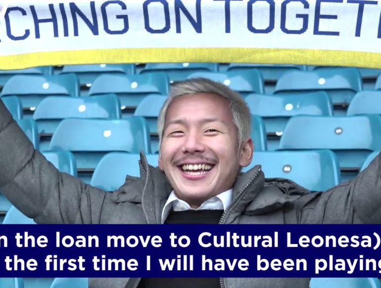 """DE JAPÓN A LEÓN: Ideguchi: """"En León quiero aprender un estilo de fútbol diferente. Trabajaré duro"""""""