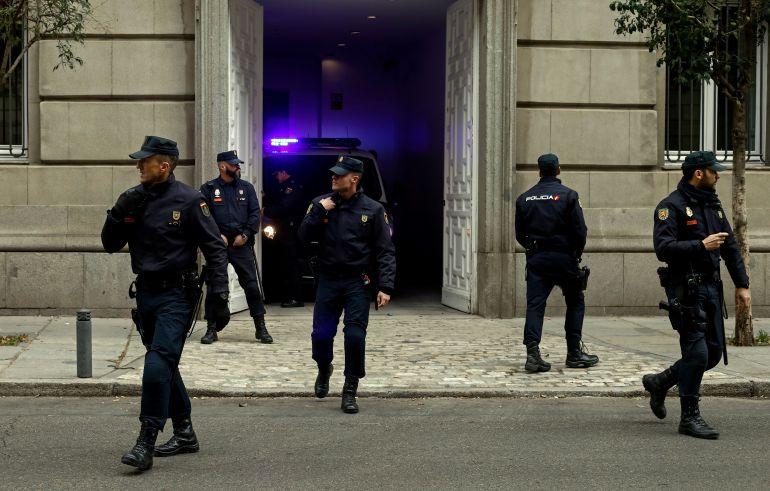 Agentes de la Policía Nacional ante el Tribunal Supremo