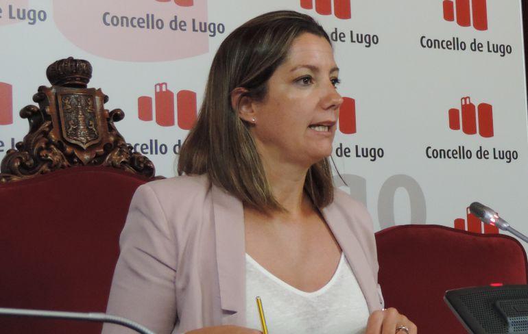 Lara Méndez, alcaldesa de Lugo, detalló la situación del procedimiento de derribo del Garañón