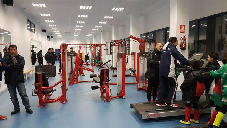 Instalaciones del Gimnasio Fitness Municipal en el Complejo Polideportivo 'Antonio Cruz'