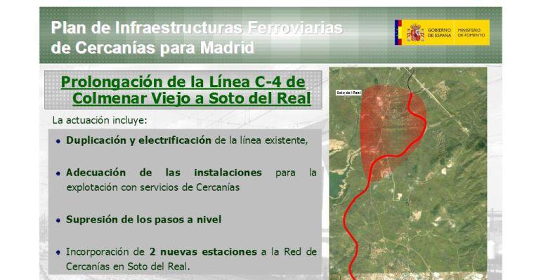 Proyecto de ampliación incluído en el Plan de Cercanías 2009-2015 (Gobierno de Zapatero)
