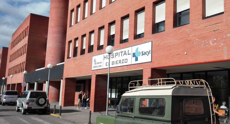 Fachada del Hospital del Bierzo