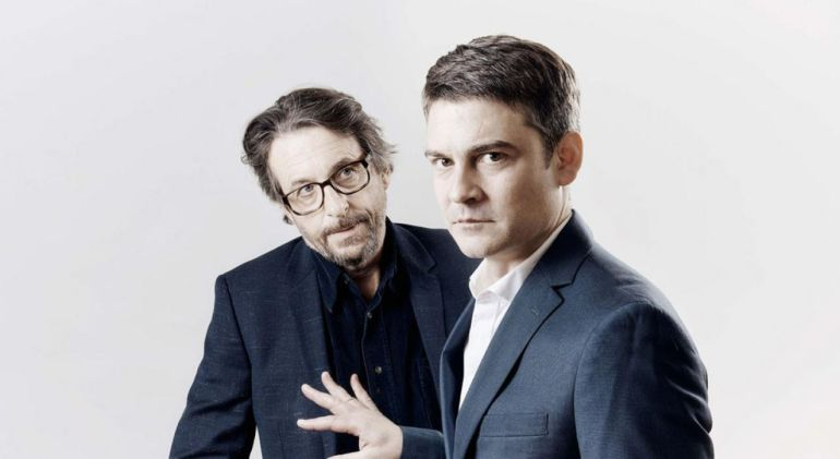 Roger Coma y Abel Folk, protagonistas de L'electe