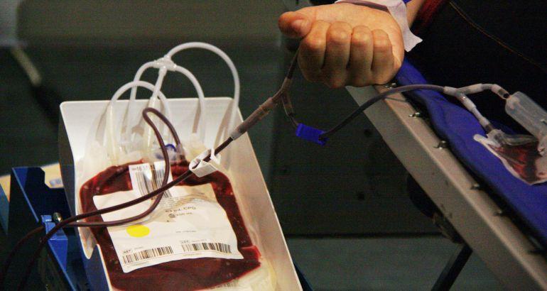 Una donació de sang.