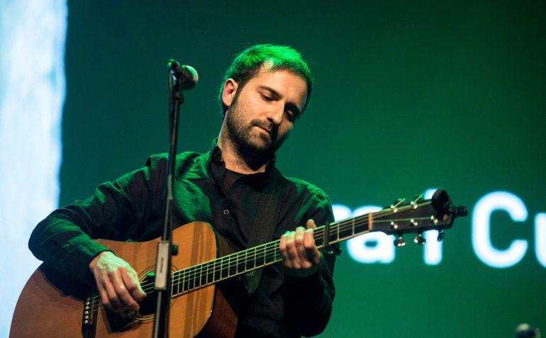 El cantante Guiem Soldevila presenta su nuevo disco.