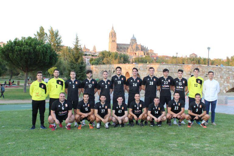 El Balonmano Ciudad de Salamanca, preparado para la segunda parte de la temporada.