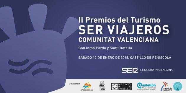 II Premios SER Viajeros Comunitat Valenciana desde Peñíscola
