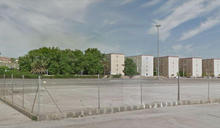 La parcela de Eugenia Viñes que baraja el Ayuntamiento como aparcamiento de autocaravanas