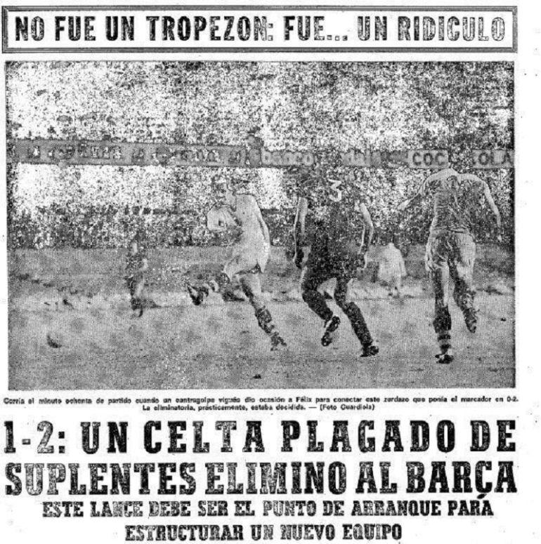 La prensa cargó duramente contra el Barcelona por su eliminación