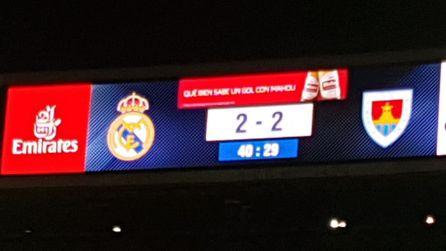 El Numancia roza la gloria en el Santiago Bernabéu