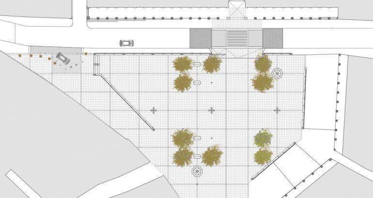 Comienzan las obras para remodelar la Plaza de Zocodover de Toledo
