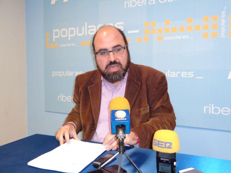 Máximo López, procurador del PP en las Cortes autonómicas