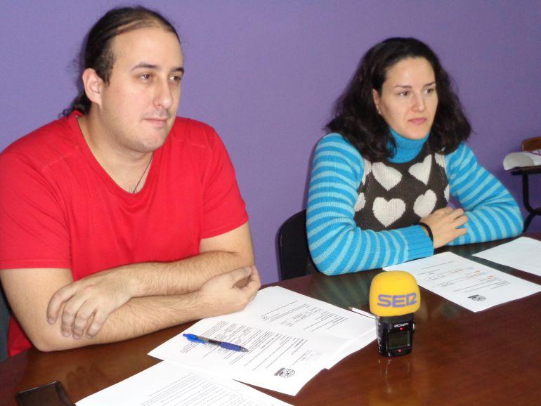 Mario Martín y Laura del Pozo, concejales de SSPA
