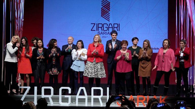 Elige los premios 'Zirgari Sariak a la Igualdad de Hombres y Mujeres'