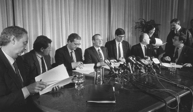 Ajuria Enea, 30 años del pacto político frente a ETA
