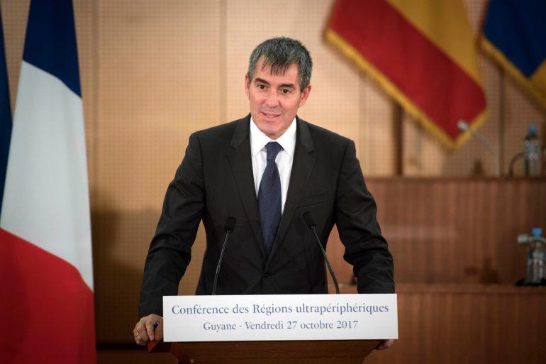 Clavijo alerta de que Canarias podría perder los fondos como Región Ultraperiférica en 2020