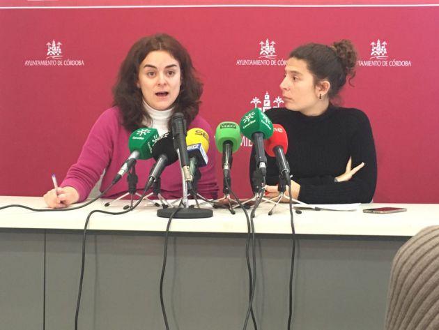 Mari Ángeles Aguilera y Vicky Fernández en rueda de prensa