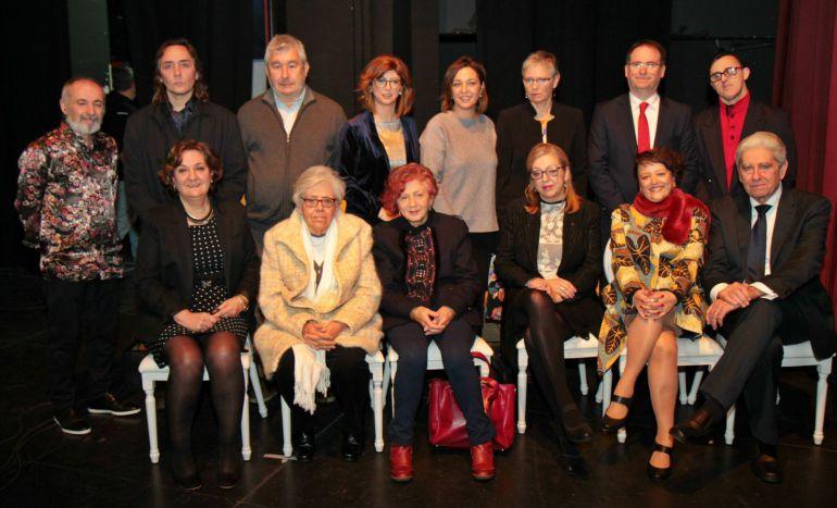Galardonados de la VI edición de los Premios Patrimonio Humano