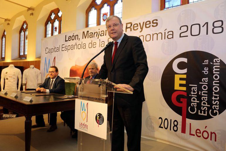 León inicia en Botines el año de la Capitalidad Gastronómica 2018