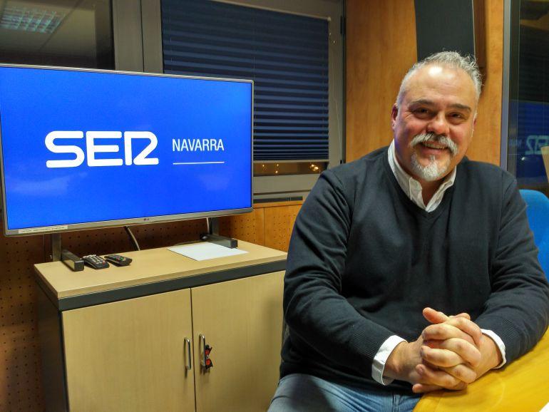 Julián Imaz, socio de la empresa Callaghan Pamplona.