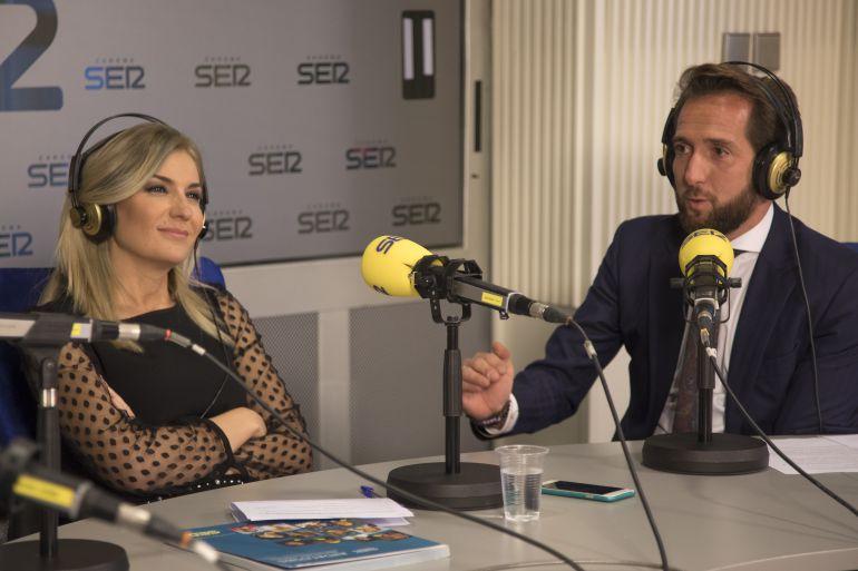 Sandra Golpe y Raúl Berdonés, en 'Ser Andaluces'