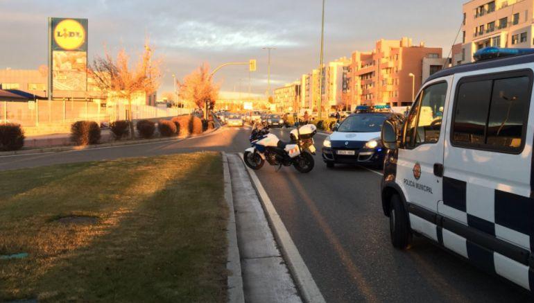 El accidente tuvo lugar en la avenida de Zamora