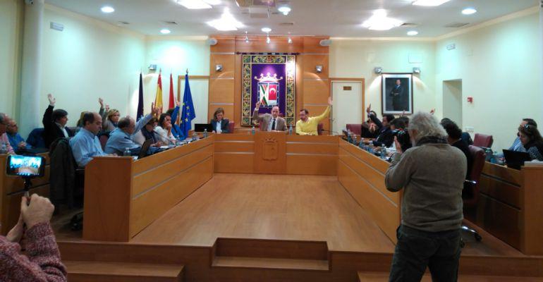 Pleno municipal de Colmenar Viejo