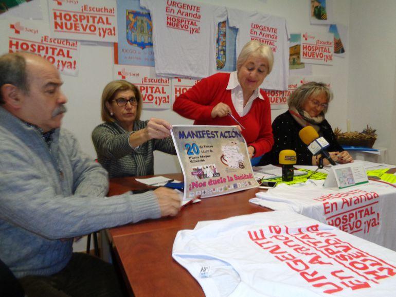 Las Asociaciones de Vecinos invitan a manifestarse por la Sanidad Pública