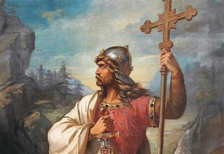 El retrato de Don Pelayo, de José de Madrazo