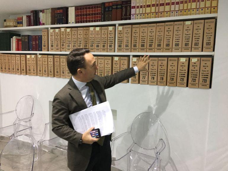 El PP contrató el alquiler del local para el Archivo Notarial al socio del notario archivero
