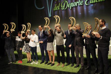 Imagen de los galardonados