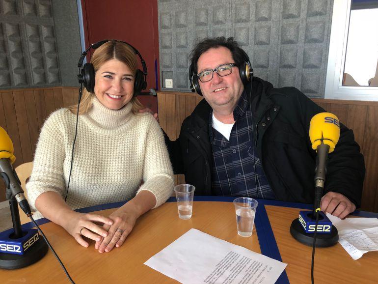 Montse Monsalve y Jesús Turel