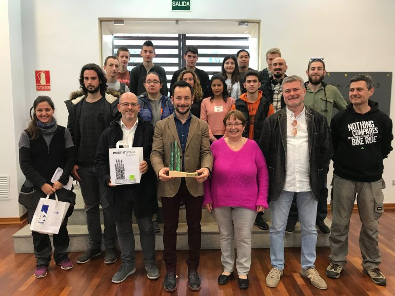 Los concejales de Ibiza durante la presentación de los productos que se llevarán a Fitur