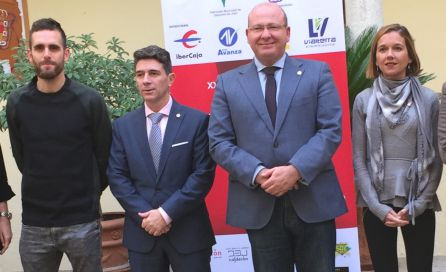 De izquierda a derecha Sebastián Martos, José María Álvarez, Javier Márquez y Lourdes González.