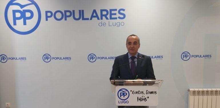 Ramón Carballo desmiente el acercamiento del PP con Foro Lugo Independiente