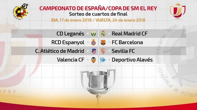 Atlético de Madrid-Sevilla, eliminatoria de cuartos
