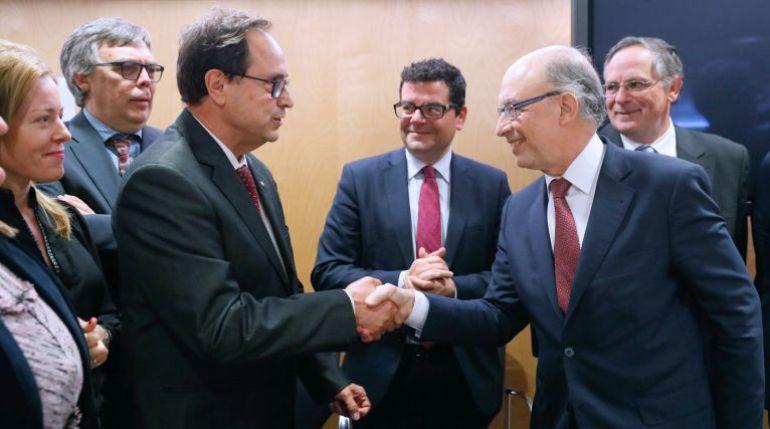 Vicent Soler y Cristóbal Montoro