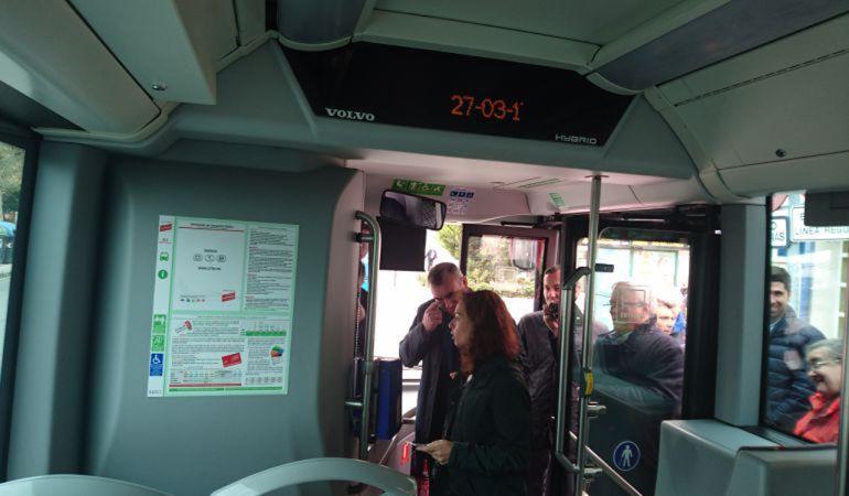 Ahora Getafe pide mejorar el transporte público entre el casco urbano y el barrio de Perales del Río.