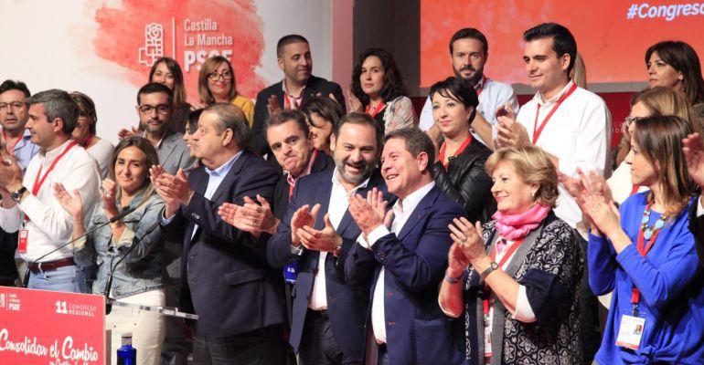 Clausura del pasado Congreso del PSOE de Castilla-La Mancha